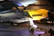 Ansicht der Messerschmitt Bf 109 E-4 von rechts