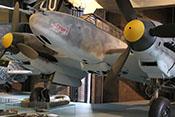 Rumpfspitze, Windschutzaufbau und Triebwerke der Bf 110 F-2