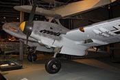 Ansicht der Messerschmitt Bf 110 F-2 von vorne links