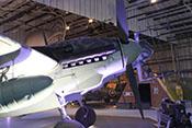 Verkleidung des rechten Triebwerks der Messerschmitt Bf 110 G-4/R6
