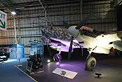 Ansicht der Messerschmitt Bf 110 G-4 von vorne links