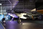 Foto der Messerschmitt Bf 110 G-4/R6 von vorne links