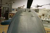 Abdeckhaube für die Rumpfwaffen (2 x MG 131)
