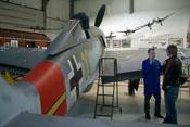 Blick von hinten rechts auf die Focke-Wulf Fw 190