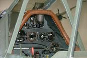 Blick in das Cockpit der Focke-Wulf Fw 190 A-8