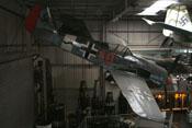 Seitenansicht des Focke-Wulf Fw 190 A-8 Nachbaus