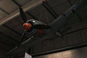 Frontansicht mit Propeller uns Spinner