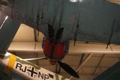 Motorverkleidung und eingezogenes Fahrwerk der Fw 190