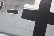 Geräteraumklappe auf der linken Rumpfseite der FW 190
