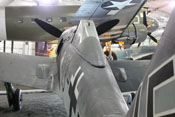 Rumpfrücken der Focke-Wulf Fw 190 A-8