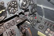 Instrumente der rechten Cockpitseite