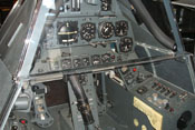 Instrumente im Nachbau eines Focke-Wulf Fw 190 Cockpits