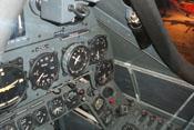 Hauptinstrumente wie der Kompass und das Variometer