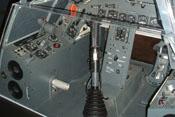 Blick in den Fußraum der Focke-Wulf Fw 190