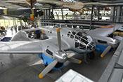 CASA C-2-111.B (Heinkel He 111 H-16) in der Flugwerft Oberschleißheim