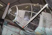 Vollsichtkanzel des Cockpits mit der Gefechtskuppel des sogenannten A-Standes