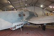Ansicht der CASA C-2.111 bzw. Heinkel He 111 H-16 des Luft- und Raumfahrtmuseums in Paris/Le-Bourget