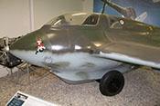Rumpf der Me 163 B in Ganzmetall-Schalenbauweise