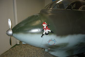 Rumpfbug der Messerschmitt Me 163 B 'Komet' mit gepanzerter Kappe
