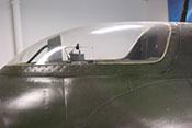 Cockpithaube mit kleinem Klappfenster und Panzerglasscheibe