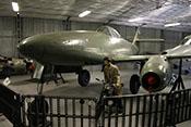 Jagdflugzeug Me 262 A-1a bzw. Avia S-92 im Luftfahrtmuseum Prag-Kbely