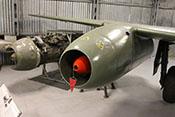 Junkers Jumo 004B-1 Strahltriebwerk der Messerschmitt Me 262 A-1a