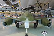 Frontalansicht der Messerschmitt Me 262 A-2a