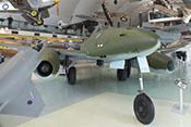 Erster einsatzreifer Strahljäger der Welt, die Messerschmitt Me 262