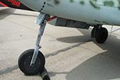 Rollwerk am Bug der Messerschmitt Me 262 B-1a