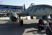 Übergang zwischen der rechten Tragfläche und dem Flugzeugrumpf