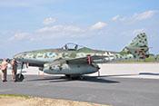 Profilansicht der Messerschmitt Me 262 B-1a