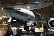 Bugsektion der Me 262 mit dem Fahrwerk und den entsprechenden Abdeckklappen