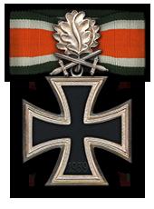 Eichenlaub mit Schwertern zum Ritterkreuz des Eisernen Kreuzes (Verleihung nach 90 Luftsiegen)