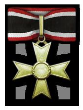 Goldene Ritterkreuz des Kriegsverdienstkreuzes ohne Schwerter