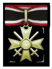 Goldene Ritterkreuz des Kriegsverdienstkreuzes mit Schwertern