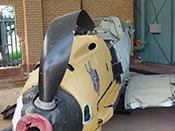 Messerschmitt Bf 109 E-3 'WNr 1289' des Südafrikanischen Nationalmuseums für Militärgeschichte in Johannesburg