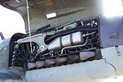 Triebwerkgerüst 'Biegungsträger' und Flugmotor DB 605