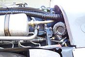 Kühlmitteltank und Dampfluftabscheider des Daimler-Benz DB 605