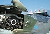 Vorderer Windschutzaufbau und Erlahaube der späten Versionen der Messerschmitt Bf 109