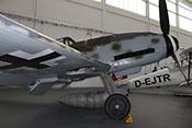 Tragflächenvorderkante der Messerschmitt Bf 109 G-14