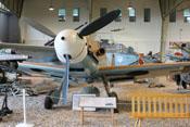 Ansicht der Bf 109 G-2 'WNr. 10575' von vorne