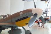 Triebwerkverkleidung und Spinner der Messerschmitt Bf 109 G-2
