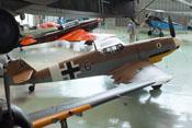 Ansicht der Messerschmitt Bf 109 G-2 von rechts