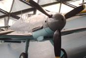 Ansicht der Messerschmitt Bf 109 Ga-2 'WNr. 14792' von vorne rechts