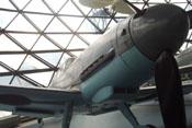 Ansicht der Bf 109 Ga-2 'WNr. 14792' von vorne rechts
