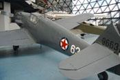 Ansicht der Messerschmitt Bf 109 Ga-2 'WNr. 14792' von hinten links