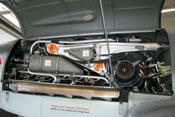 Blick auf den DB 605, das Triebwerk der Messerschmitt Bf 109 G-4