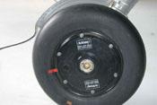 Laufrad bestehend aus Felge und Reifen in den Dimensionen 660 x 160