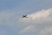Flugvorführung der Bf 109 G-4 'rote 7' - Überflug