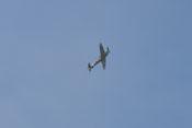 Messerschmitt Bf 109 G-4 im steilen Steigflug